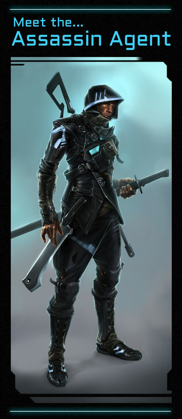 Satellite Reign Assasin Agent