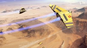 Homeworld Deserts of Kharak Aircraft Concept Art