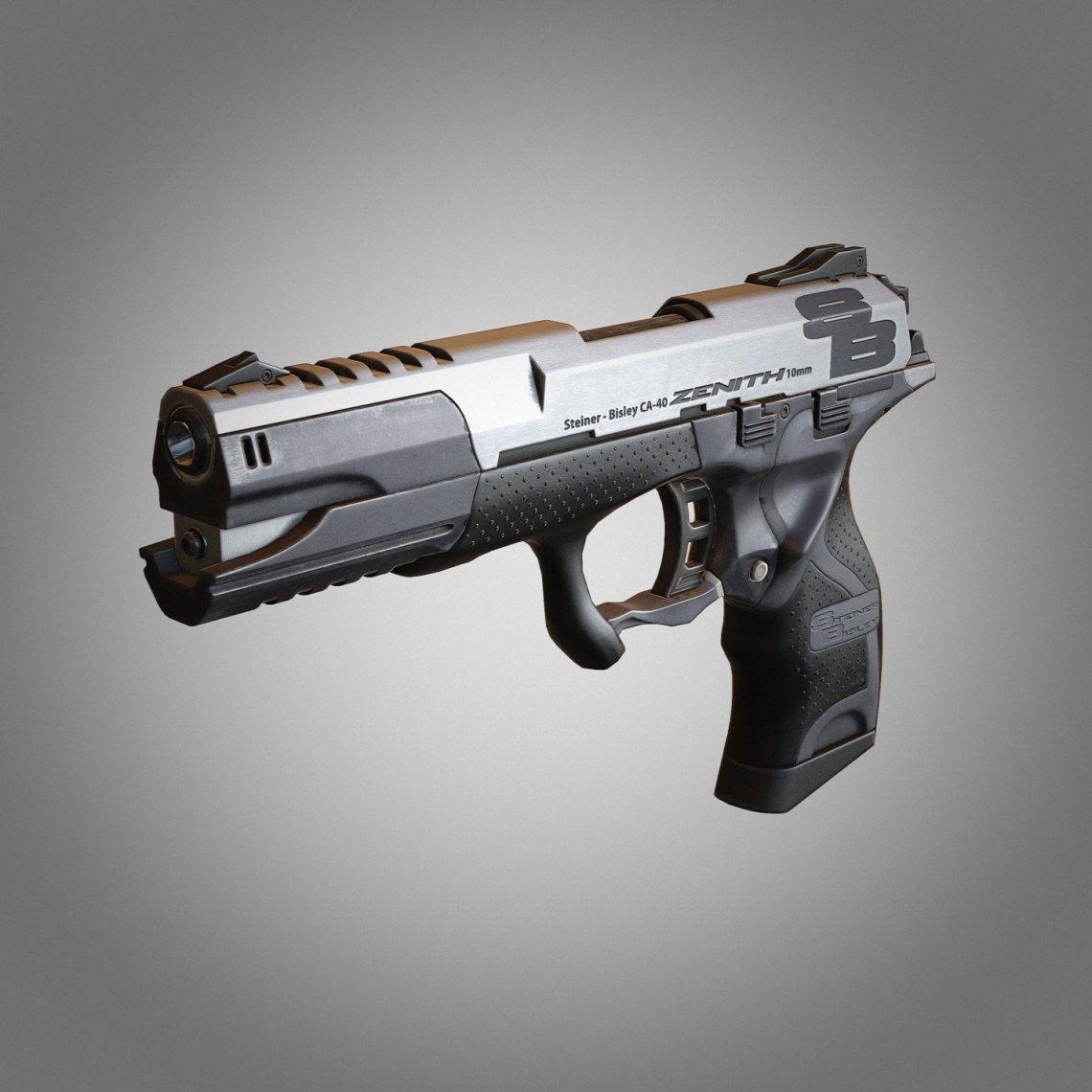 Deus Ex HR - Zenith 10mm Pistol por Jan Mischke