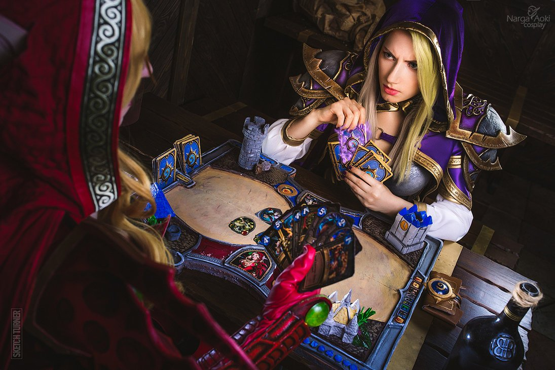 hearthstone___mage_vs_rogue_by_narga_lifestream-dahgtvx