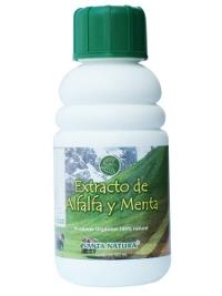 Extracto de alfalfa y menta