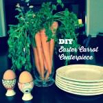 DIY Easter Carrot Centerpiece