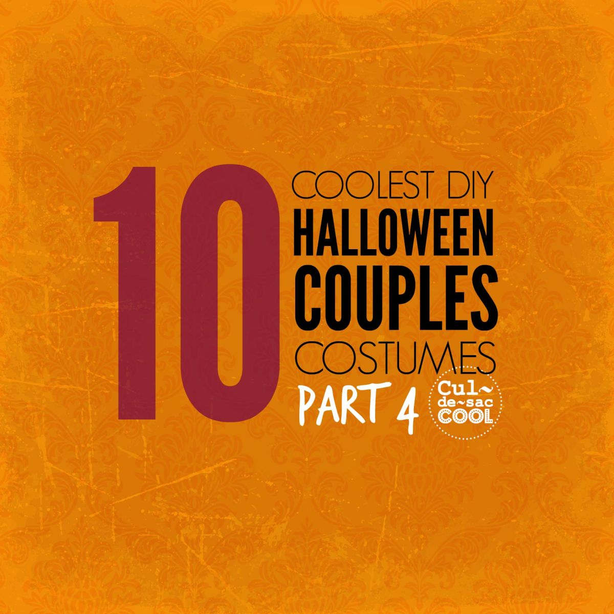 10 Coolest DIY Halloween Couples Costumes -- Part 4