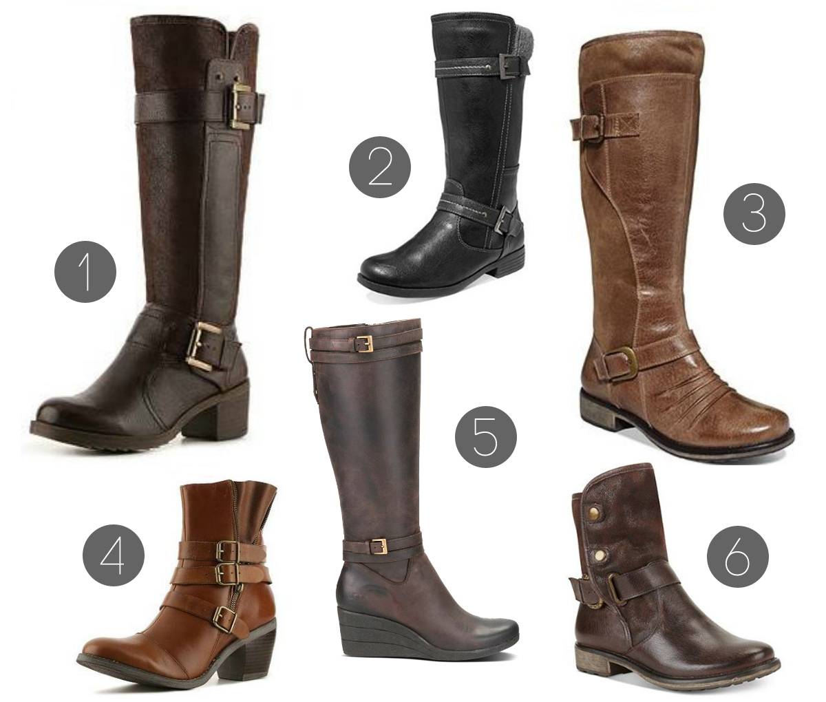 ROUNDUP // 12 STYLISH WINTER BOOTS
