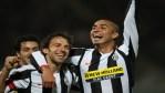 20080127 - LIVORNO - SPO - CALCIO: SERIE A; LIVORNO-JUVENTUS. L' esultanza di Del Piero e Trezeguet questa sera allo stadio A. Picchi di Livorno. FRANCO SILVI/ANSA /DC