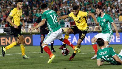 Jamaica sorprendió a partir de su intención de jugar con la pelota al piso.