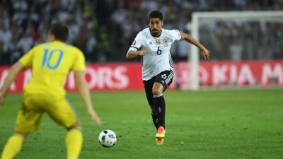 Khedira, uno de los ejes del juego de Alemania