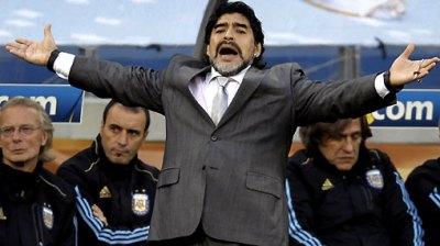 Maradona rompió el matrimonio.