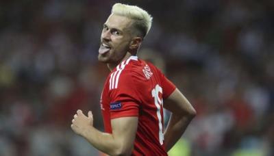 Ramsey está en un nivel de forma muy alto