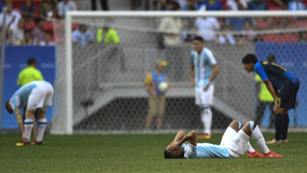 Argentina, eliminado en primera ronda de los JJ.OO.