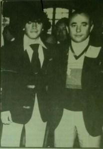 Perales y el recuerdo imborrable con el joven Maradona.