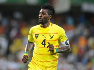 lejos de su mejor versión Emmanuel Adebayor sigue siendo el jugador insignia del combinado togolés