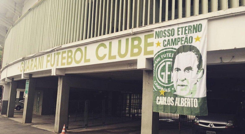 Carlos Alberto Silva, una de las leyendas del club.