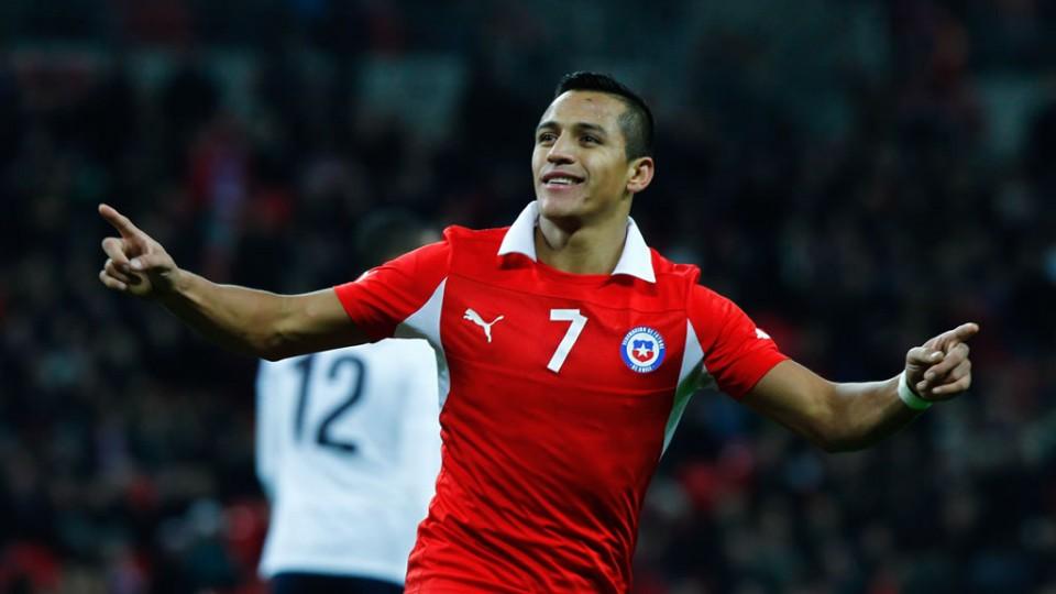 Alexis quiere ser el máximo goleador de Chile.