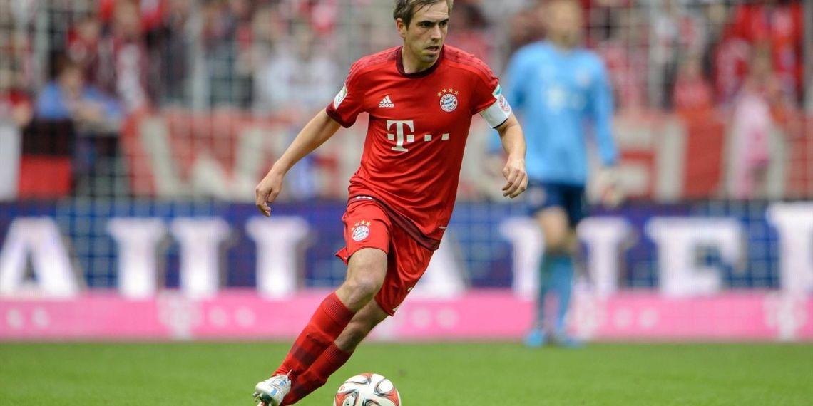 Lahm, una de las bajas importantes del Bayern.