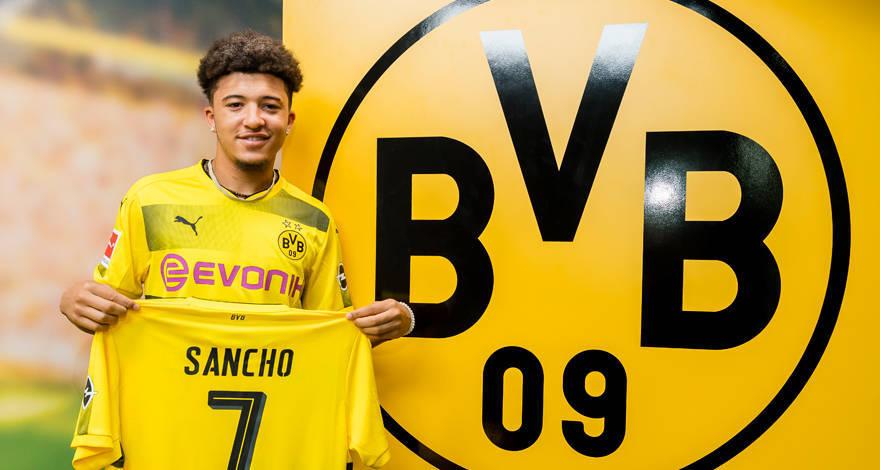 Sancho, una de las apuestas del Dortmund.