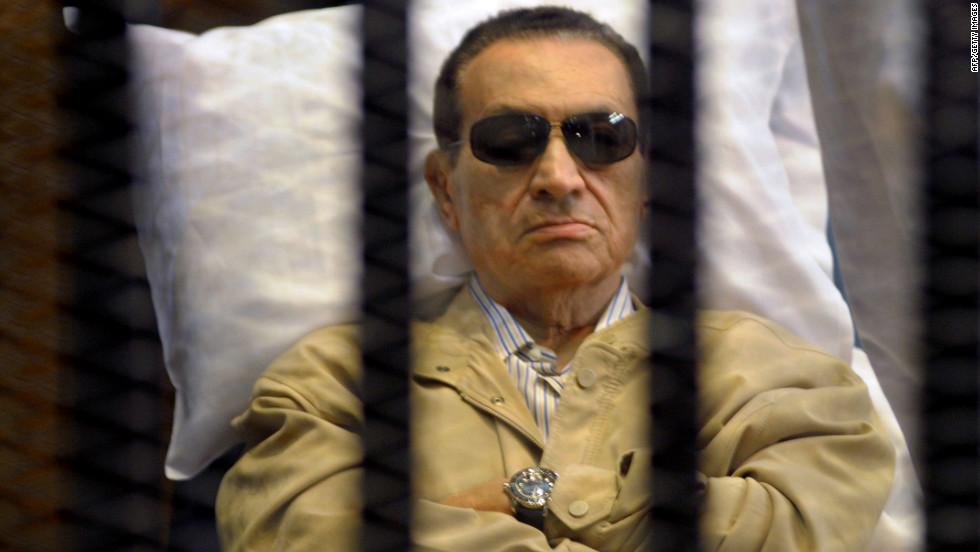 Hosni Mubarak en la actualidad.