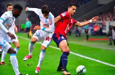 El Ghazi tuvo varias situaciones para empatar el partido.