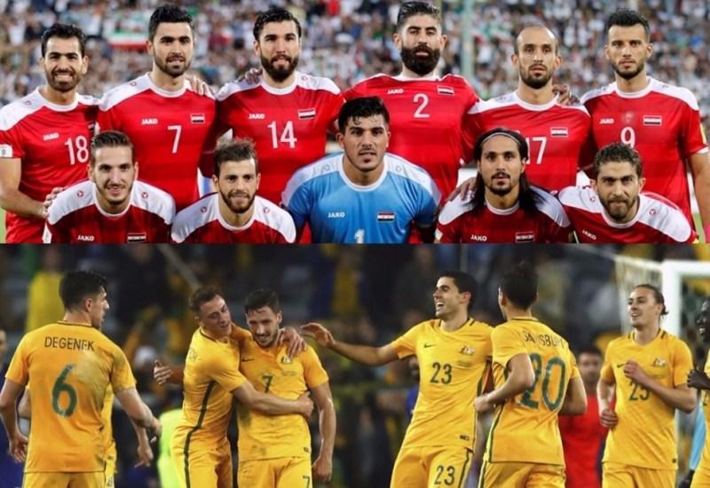 Australia va por la confirmación, Siria quiere hacer historia