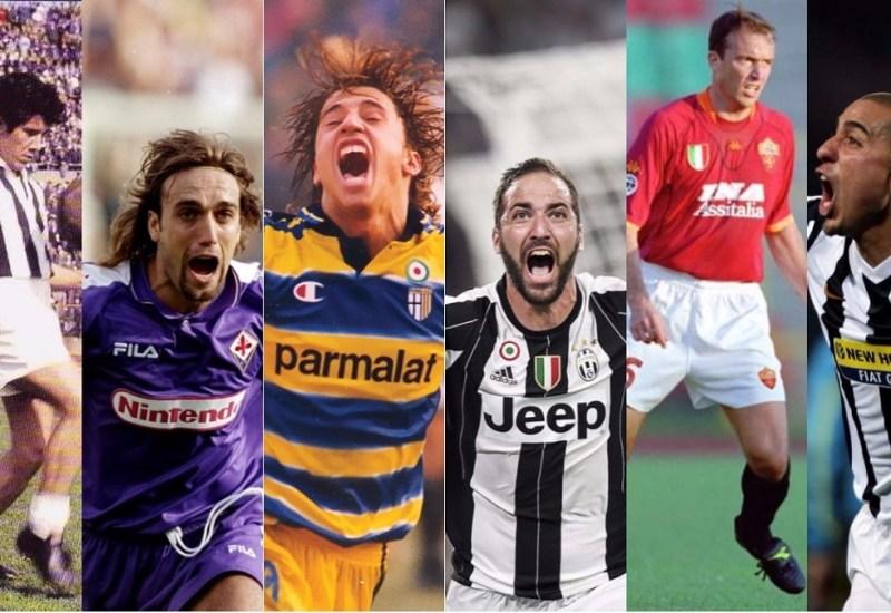 Higuaín y la conexión con cinco grandes goleadores argentinos