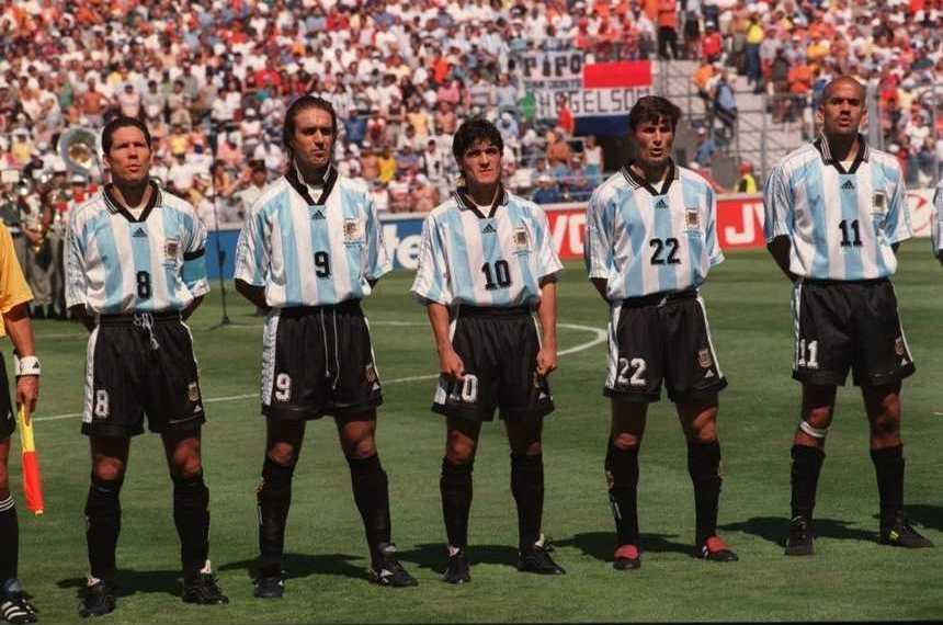 Plantel Argentina Francia 1998