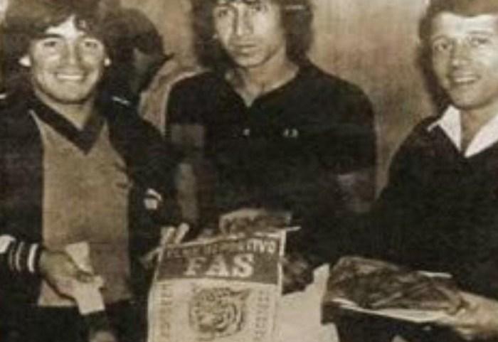 Mágico González Maradona