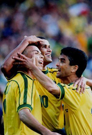 Ronaldo Rivaldo Bebeto
