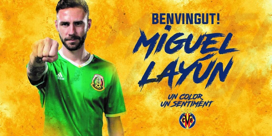 Miguel Layún, al Villarreal.