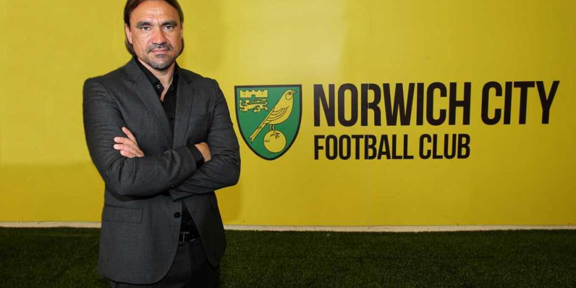 Daniel Farke, el cerebro del Norwich.