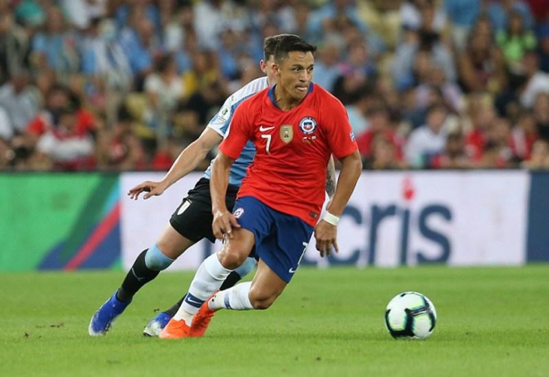 Alexis Sánchez Chile Uruguay Brasil 2019