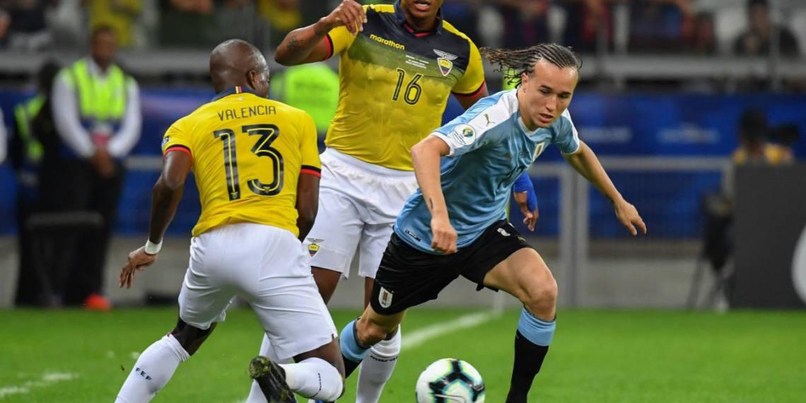 Ecuador dejó una mala imagen ante Uruguay.