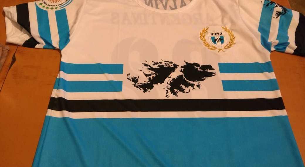 La camiseta del equipo