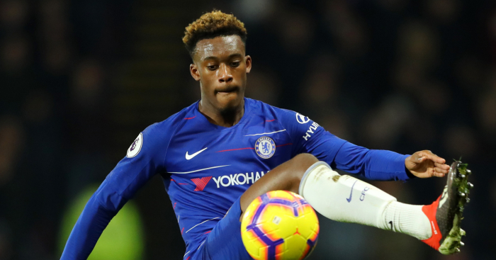 during the Premier League match between Watford FC and Chelsea FC at Vicarage Road on December 26, 2018 in Watford, United Kingdom.