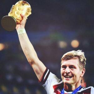 Toni Kroos, único alemán del Este en ganar un Mundial