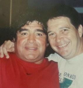 Alejandro Verón y Maradona