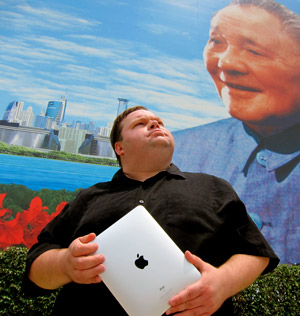 "Mike Daisey's ""The Agony and Ecstasy of Steve Jobs"" at Berkley Rep."