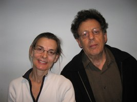 with Phillip Glass