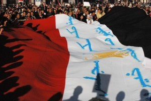A protest in Cairo's Tahrir Square in December 2011. Since the rise of the Muslim Brotherhood, protests in Egypt have grown more violent and fractious as divisions in the country have become more polarized.