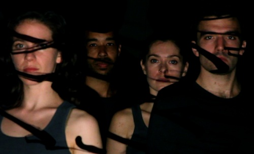 Cori Kresge, Rashaun Mitchell, Melissa Toogood, and Silas Riener (photo by Nicholas O'Brien)
