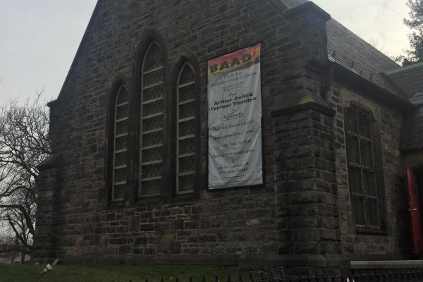BAAD!'s Gothic revivalist building on Westchester Square in the Bronx