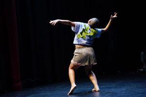 Mariana Valencia in Originators. Photo by Bradley Buehring.