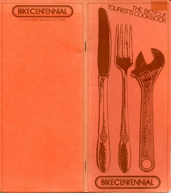 Bicycle Tourists Cookbook