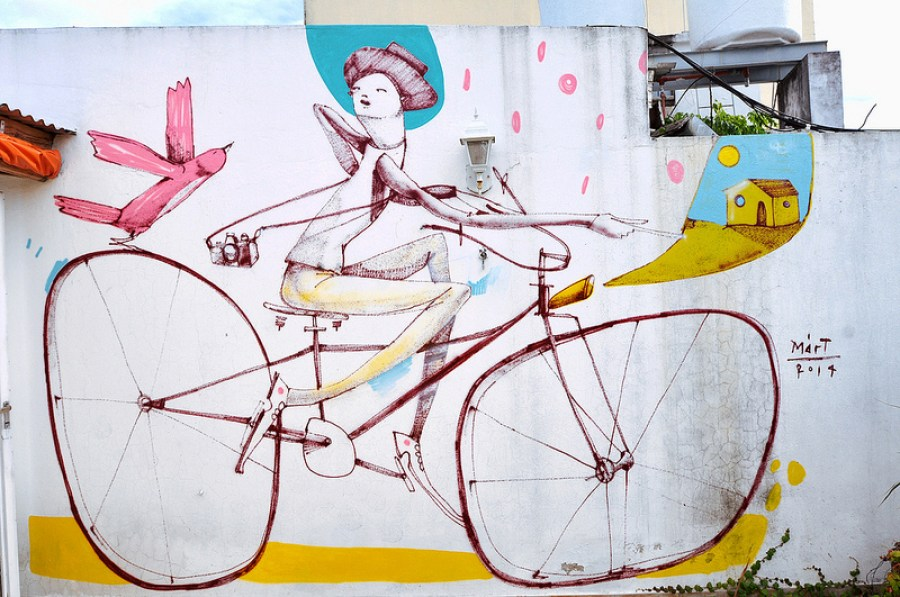 mart bicycle art argentina
