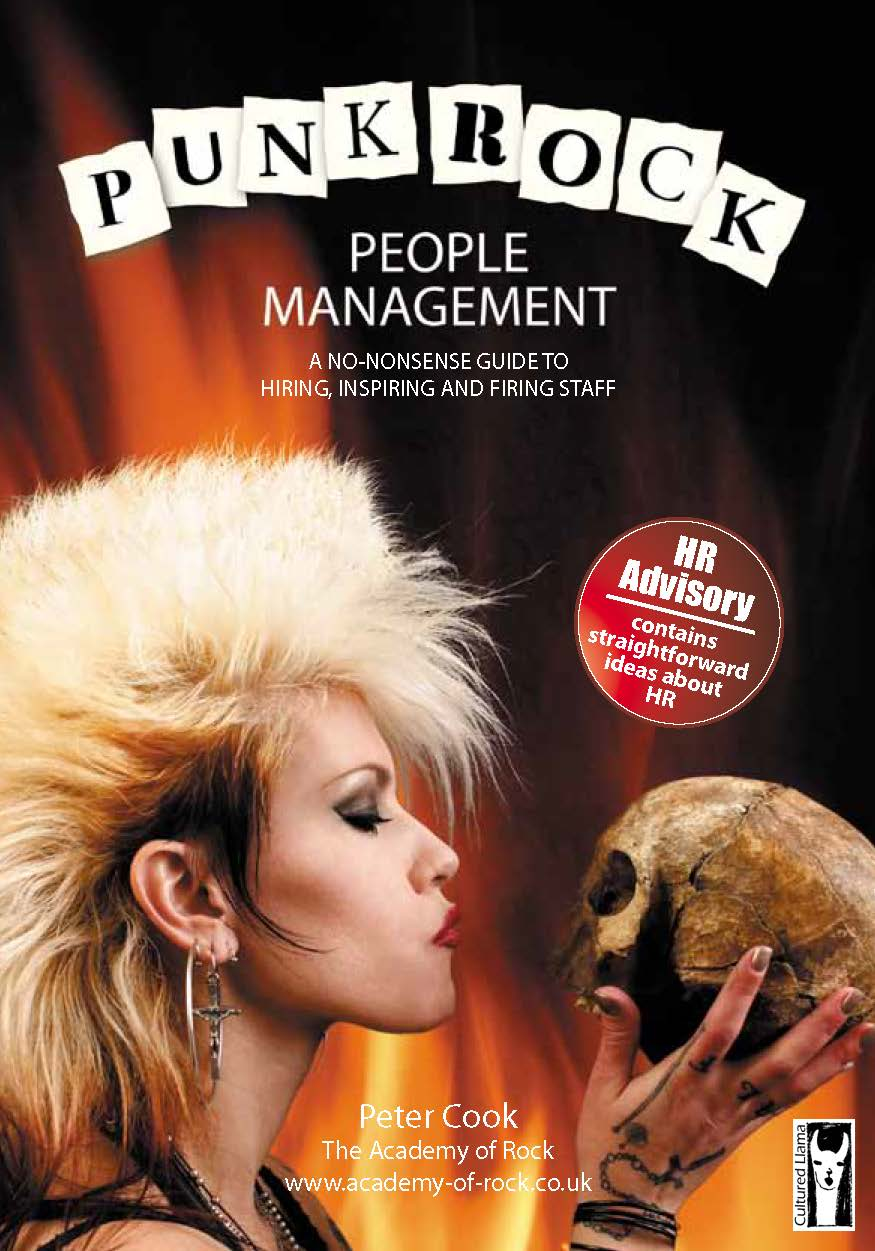 Punk Rock People Management by Peter Cook