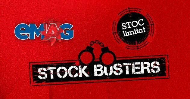 eMAG reduce preturile cu 75% in campania Stock Busters 23-26 august 2016