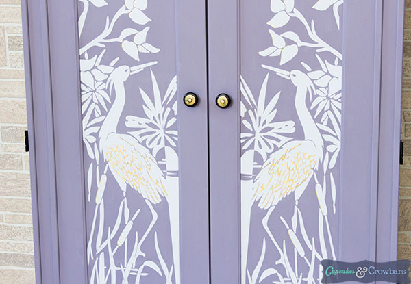 Gorgeous Armoire Makeover | Pure&Original Paint | FFFC |C&C