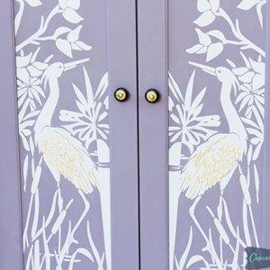 Gorgeous Armoire Makeover | Pure&Original Paint | FFFC |C&C