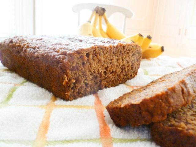 Banana Bread (Vegan, whole-wheat)
