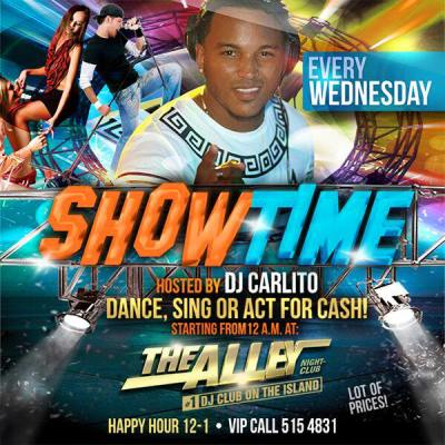 Showtime at The Alley Curacao