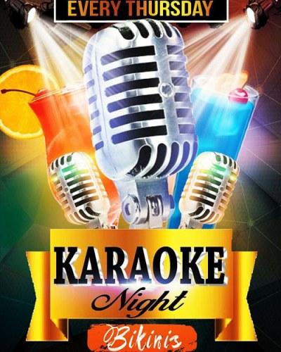 Karaoke Night at Bikinis Curacao